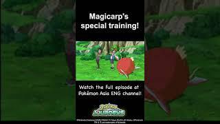 Magicarp's Special Training! | Pokémon Journeys #Shorts