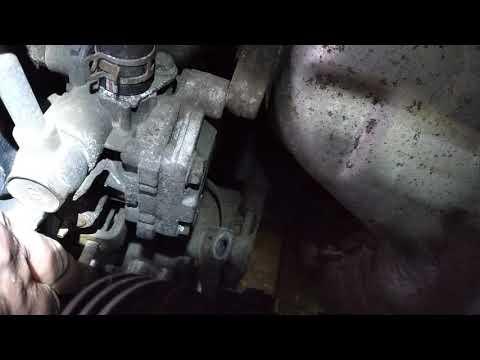 Снятие насоса гидроусилителя с митсубиси лансер 9 -1 8 бензин