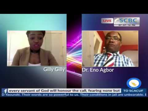 One 2 one with Gilly Gilly guest  Dr. Eno Agbor 06/08/2017 Edition