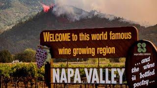 北加州两处大型山火烧毁逾万英亩 居民撤离道路如人间炼狱