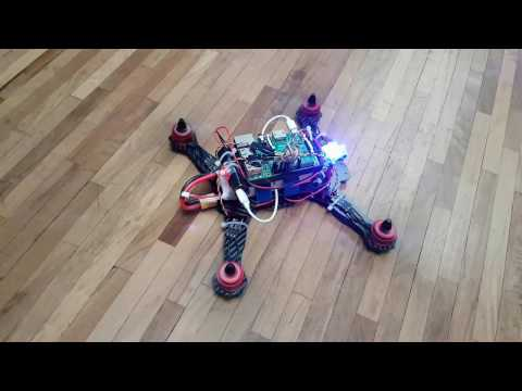 Raspberry Pi Drone - Controls test