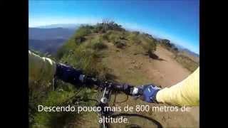 Descida da Serra do Faxinal - Trip Bike Rota dos Canions - junho/2014