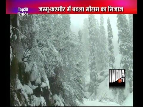 Rain, snowfall in Kashmir valley
