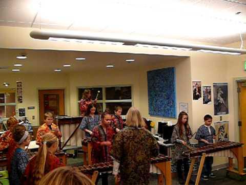 Maltby Elementary School Marimba Concert