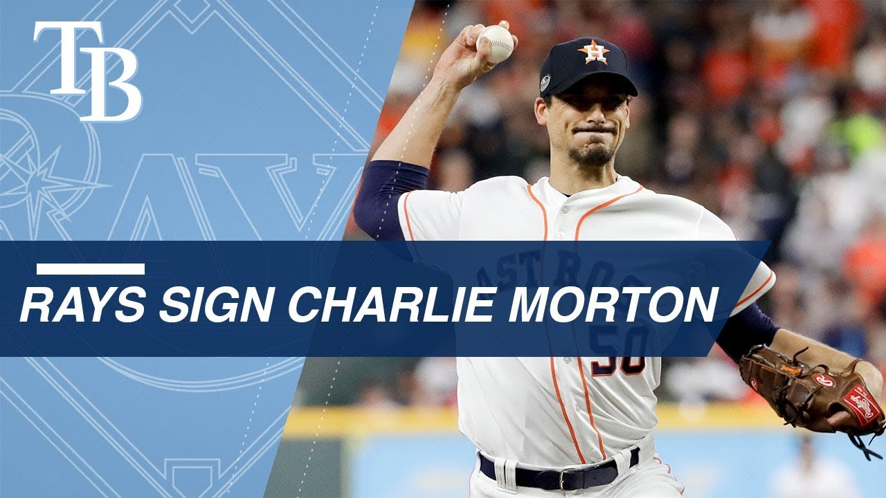 charlie morton signs two year deal with the rays youtube charlie morton signs two year deal with the rays