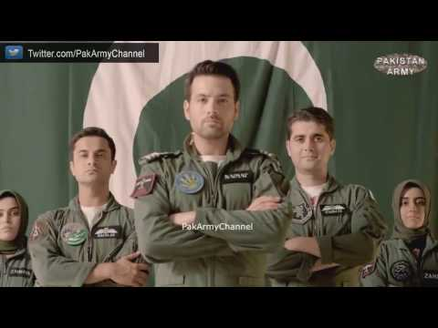 Pakistan Air Force National Songs by Junaid Jamshed