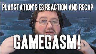 Playstation e3  recap and reactions! GAMEGASM!