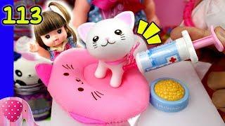 Gambar cover Mainan Boneka Eps 113 Kucing Baru Yuka - MellChan Cat - S1P12E113 GoDuplo TV