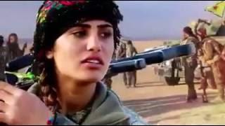 Onore a Asia Ramazan Antar, guerriera Kurda.