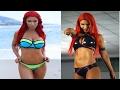 WWE DIVA EVA MARIE HOT SEXY COMPILATION PHOTOSHOOT