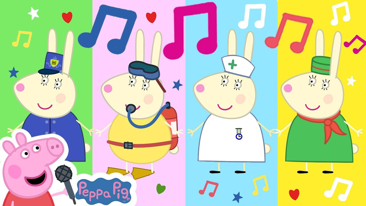 Peppa Pig Official Channel ???? Busy Miss Rabbit  ???? Peppa Pig My First Album 14#