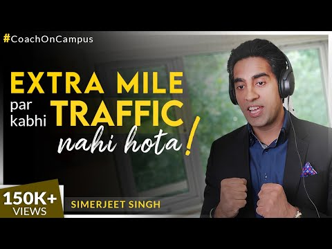 The Extra Mile Effect | Hindi Motivational Videos for Success | CC 14