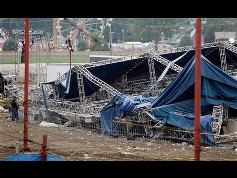 Stage Collapse Indiana State Fair 2011