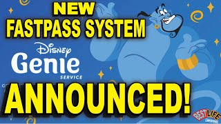 Disney Genie Service Announced! A New Fast Pass System.. What it is, and how it works!
