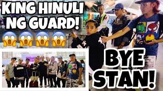 BYE STAN!!! (KING HINULI NG GUARD!)
