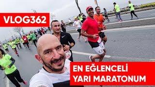 En eğlenceli yarışlarımdan biri, 2018 Vodafone İstanbul Yarı Maratonu  | Asla Durma Vlog 362