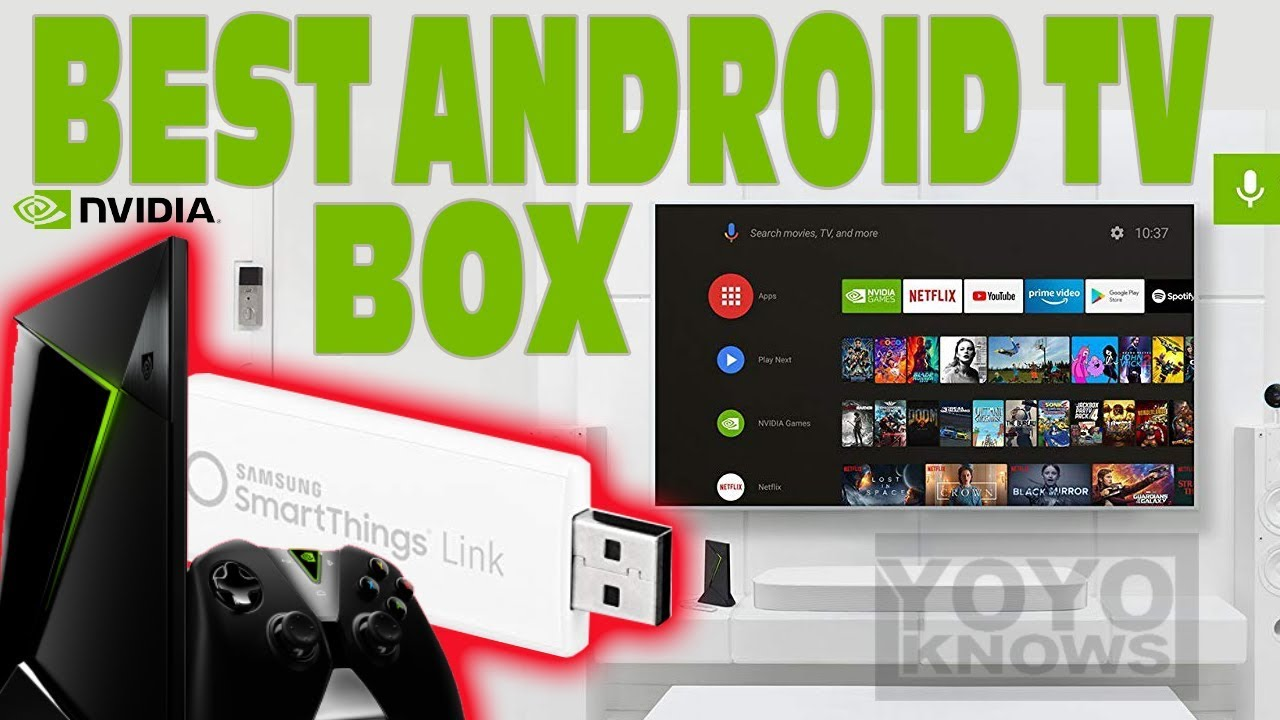 Best 2018 IPTV android box for smart home automation! | Nvidia Shield Review