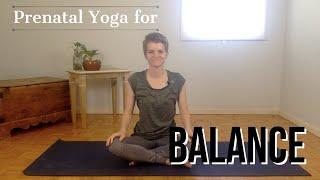 Prenatal Yoga for Balance