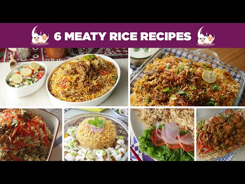 6 Meaty Rice