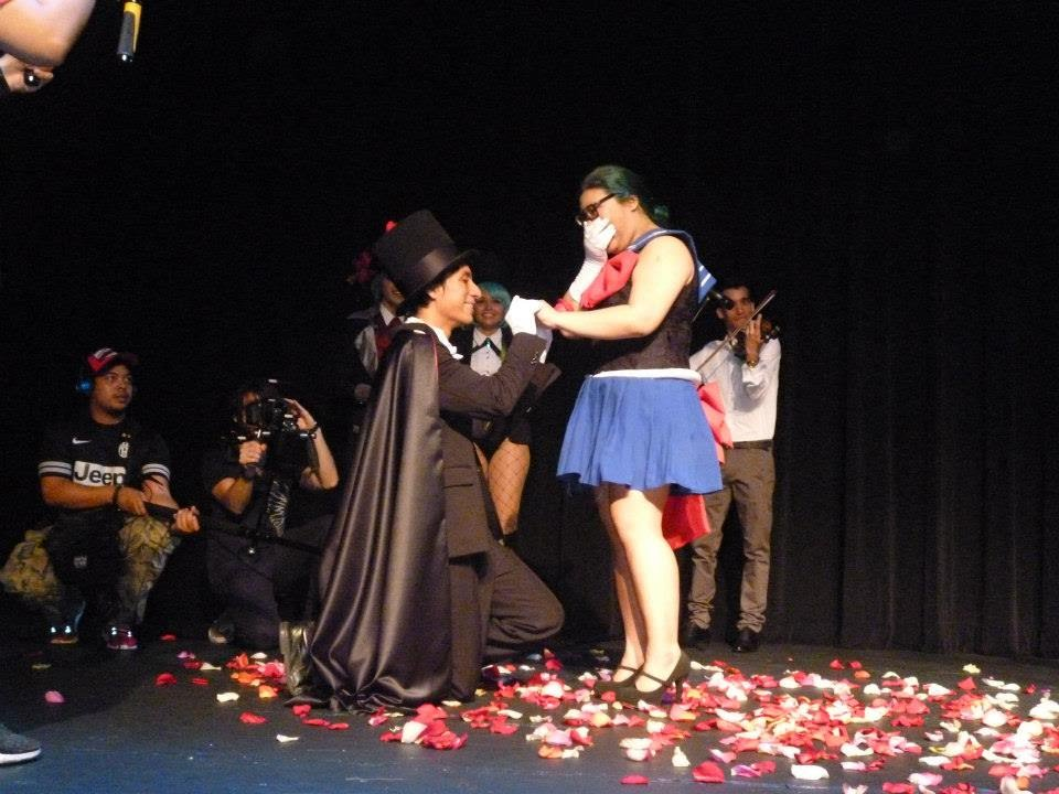 Our Anime Wedding Proposal Sailor Moon Themed In Festival Sugoi