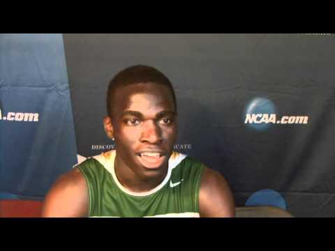 2012 NCAA D3 Track and Field Championship Interviews: Men's 110 Hurdles