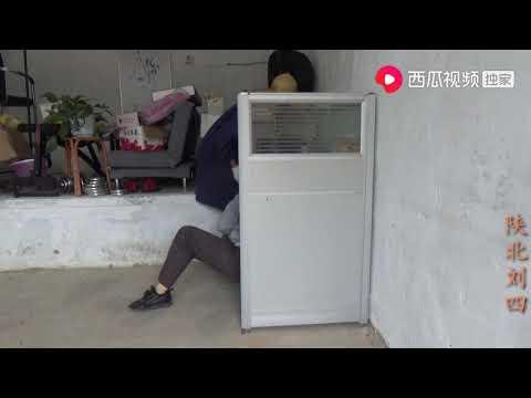 陕北刘四:居住不到一年的窑洞,刘四又开始抹水泥收拾,发生了什么事?
