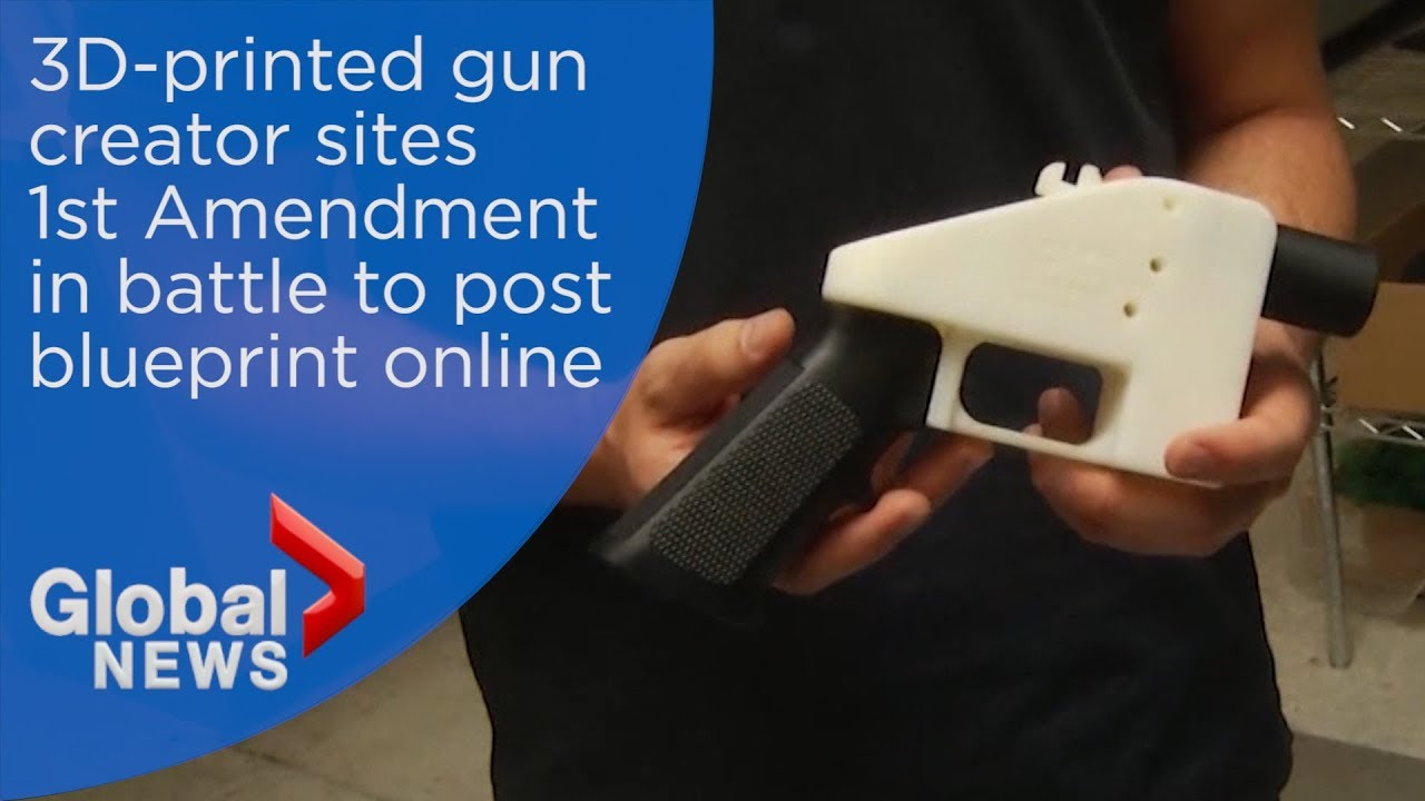 3d gun manufacturer argues right to post blueprints online youtube 3d gun manufacturer argues right to post blueprints online malvernweather Image collections