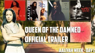 Queen of the Damned - Official Trailer Reaction [Aaliyah Week - Day 1]