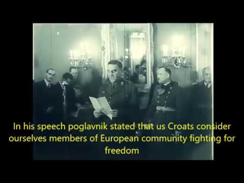 croatia declares war on united states and great britain (WWII)