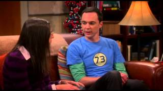 S07E04 TBBT - Sheldon ruins little house on the prairie for Amy