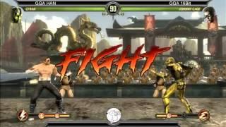 MK9 casuals, GGA HAN(Cyrax, Reptile) vs GGA Dizzy (Cage) 2