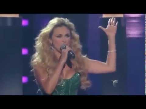 Aracely Arámbula canta en Premios Tu Mundo 2013
