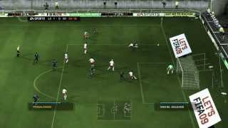 L.A.  Galaxy Vs NY Red Bulls [FIFA 09 XBOX360]