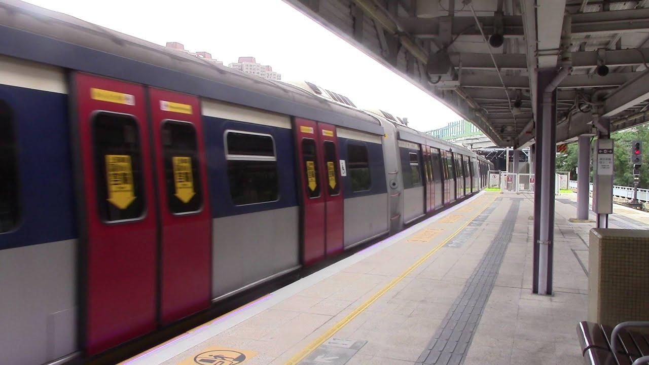 (不幸而回) 港鐵東鐵線 MLR (E92/E70) 駛入大埔墟站中央月臺 - YouTube