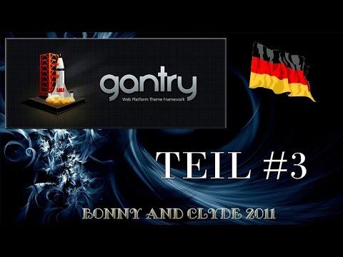 Gantry Framework - #3 Style, Features, Menu Und Advanced Reiter