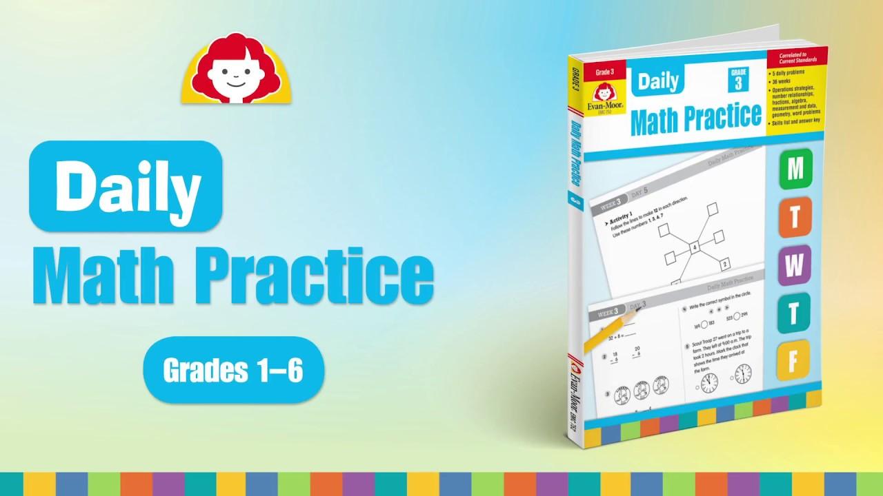 Daily Math Practice Resources, Grade 6 – Evan-Moor