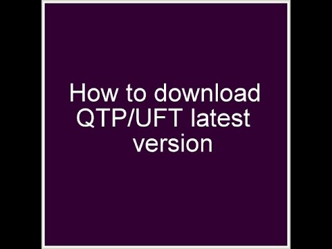 how to download qtp uft latest version by cdd youtube rh youtube com