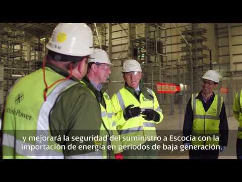 Ignacio Galán visita la estación de conversión de Hunterston  (SUB.)