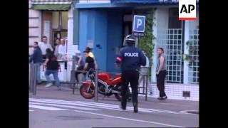 FRANCE: MARSEILLE: WORLD CUP SOCCER FAN RIOTS UPDATE (6)
