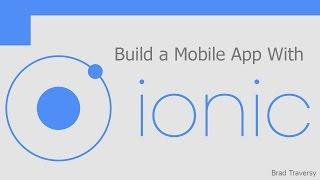 Ionic Mobile Framework