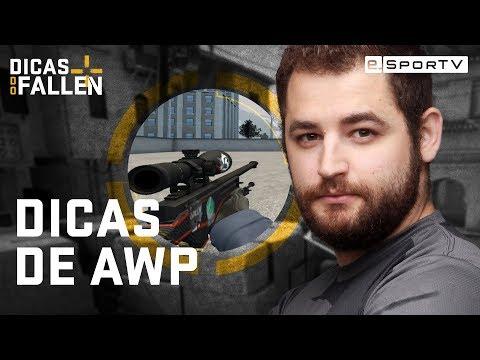 FALLEN ENSINA A JOGAR DE AWP | Dicas do Fallen