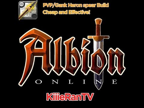 Albion online - Heron spear Solo PVP/GANK - CHEAP & EFFECTIVE