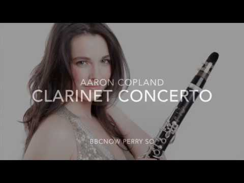 Aaron Copland: clarinet concerto (I. slow and expressive)