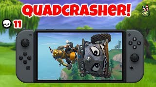 Crazy QuadCrasher Game! (Fortnite Nintendo Switch Live Stream)