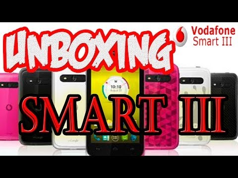 Vodafone SMART III | NFC | Unboxing + Review