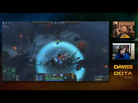 Day[9] Learns Dota - Playing support in 7.07
