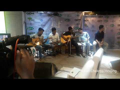 Purnota Warfaze ed  Green room band  The 3rd floor music launch