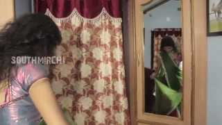 Young Girl Off Saree Change At Hostel