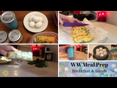 Weight Watchers | Meal Prep #29 | Trying some new recipes! | 01.29.17