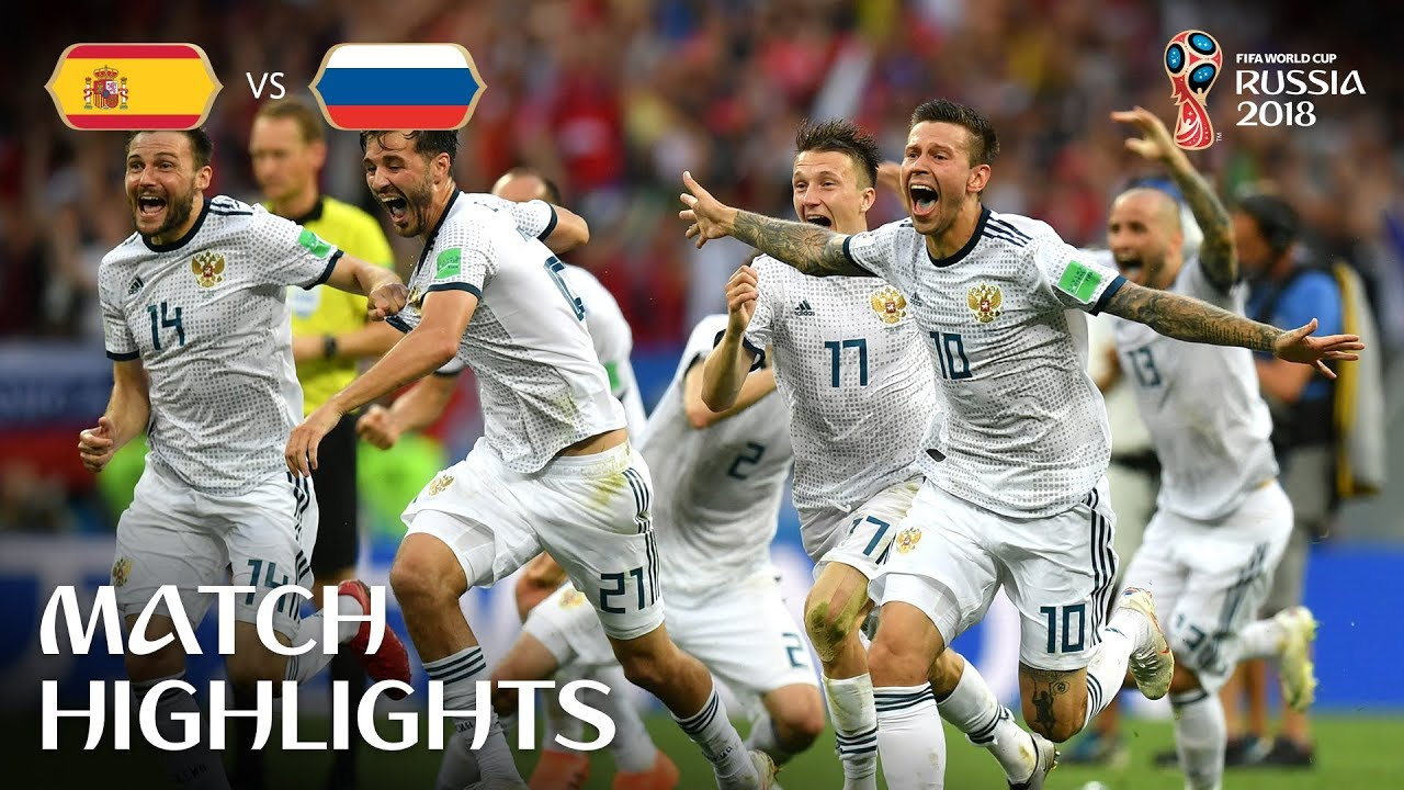 2a325ddd5e8 Spain v Russia - 2018 FIFA World Cup Russia™ - Match 51 - YouTube